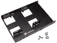 Corsair DUAL SSD MOUNTING BRACKET 3.5IN INT DRIVE BAY TO 2.5IN CSSD-BRKT2 - eet01