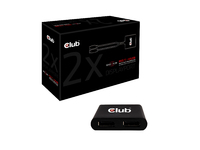 Club3D Multi Streaming Transport Hub 1xDP->2xDP SenseVision retail CSV-5200 - eet01