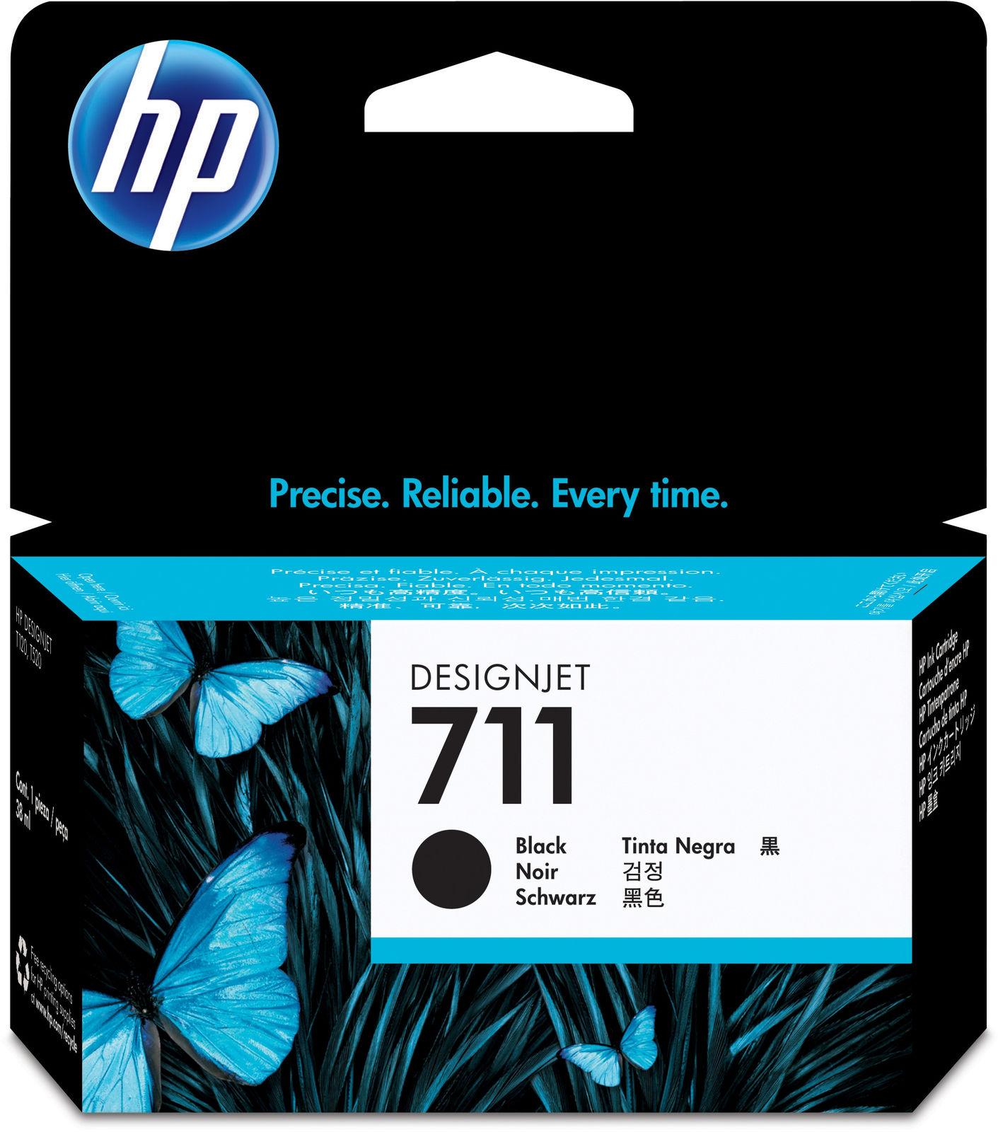 HP Ink Black No.711 38ml  CZ129A - eet01