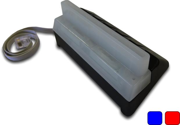 Star Micronics D500-03-02-0 Illuminated Bezel Blue/ Red LED D500-03-02-0 - eet01