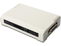 Digitus USB & Parallel Print Server 3P 1x RJ45. 2x USB A 1x DB-36-pin DN-13006-1 - eet01