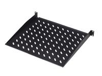Digitus 1U rack mount fixed shelf Vented. black RAL 9005. DN-19 TRAY-1-SW - eet01