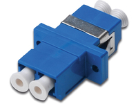 Digitus LC / LC Duplex Coupler blue Zirconia Ceramic Sleeve. DN-96007-1 - eet01
