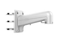 Hikvision PTZ Vertical pole mount Bracket,white Aluminum & Steel DS-1602ZJ-POLE - eet01
