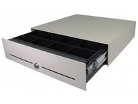 APG Cash Drawer E3000 Slide-Out Cash Drawer European Gray, 446x410x109, EB520-EG4541 - eet01