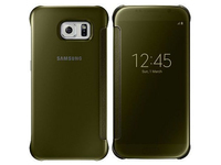 Samsung S6 Clear View Cover Gold  EF-ZG920BFEGWW - eet01