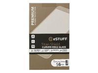 ESTUFF TitanShield Galaxy S6  Edge 3D Curved Edge  Full Cover Glass ES10049-3D-BLACK - eet01