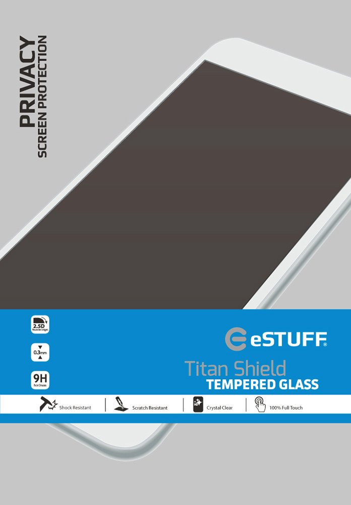 "ESTUFF Apple iPad Air/Air2/9.7"" Priv Titan Shield Screen Protector ES10068-PRIV - eet01"