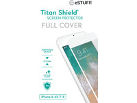 ESTUFF Apple iPhone 6/6S/7/8 Full Whi Titan Shield Screen Protector ES501115 - eet01