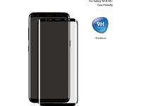 ESTUFF Samsung Galaxy S9 Curved Black Titan Shield Screen Protector ES504018 - eet01