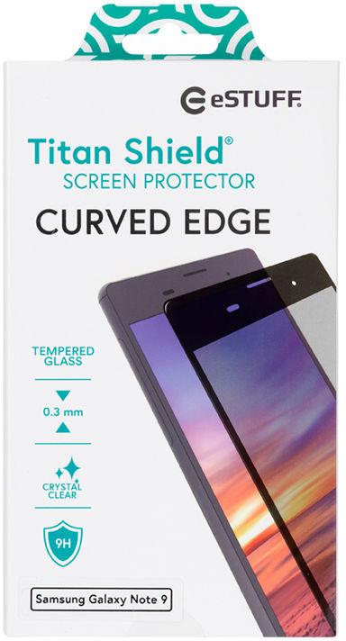 ESTUFF Samsung Galaxy Note 9 Curved B Titan Shield Screen Protector ES504022 - eet01