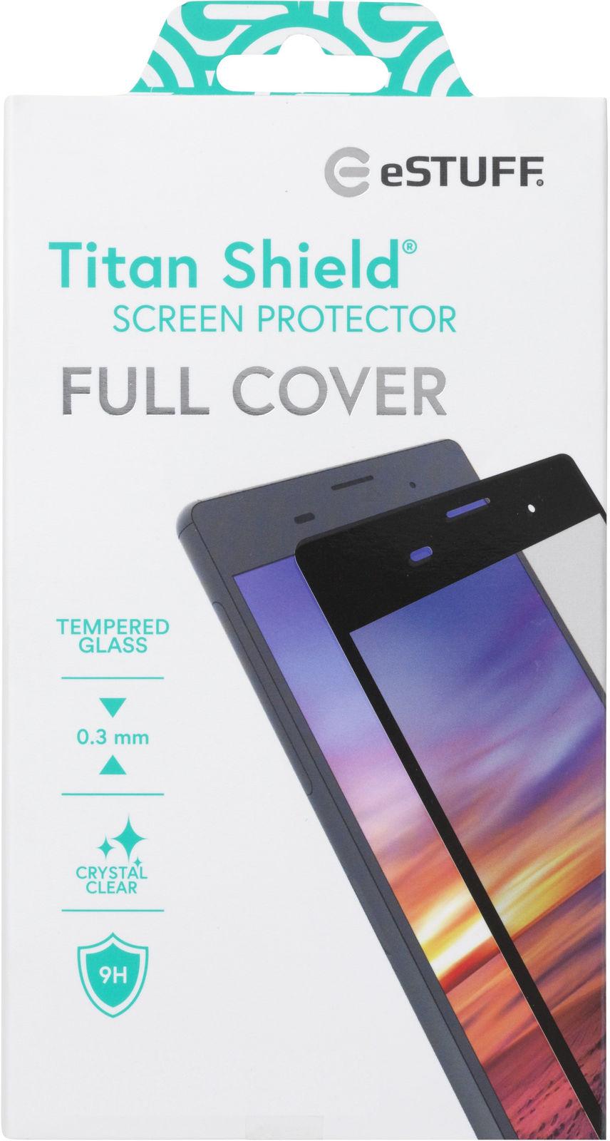 ESTUFF Samsung Galaxy Note 10 Black Curved Edge, Full Glue  ES504052 - eet01