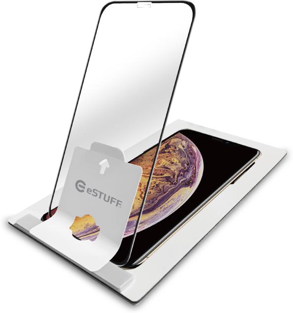 ESTUFF Apple iPhone XS/X Black Full Cover ES550510 - eet01