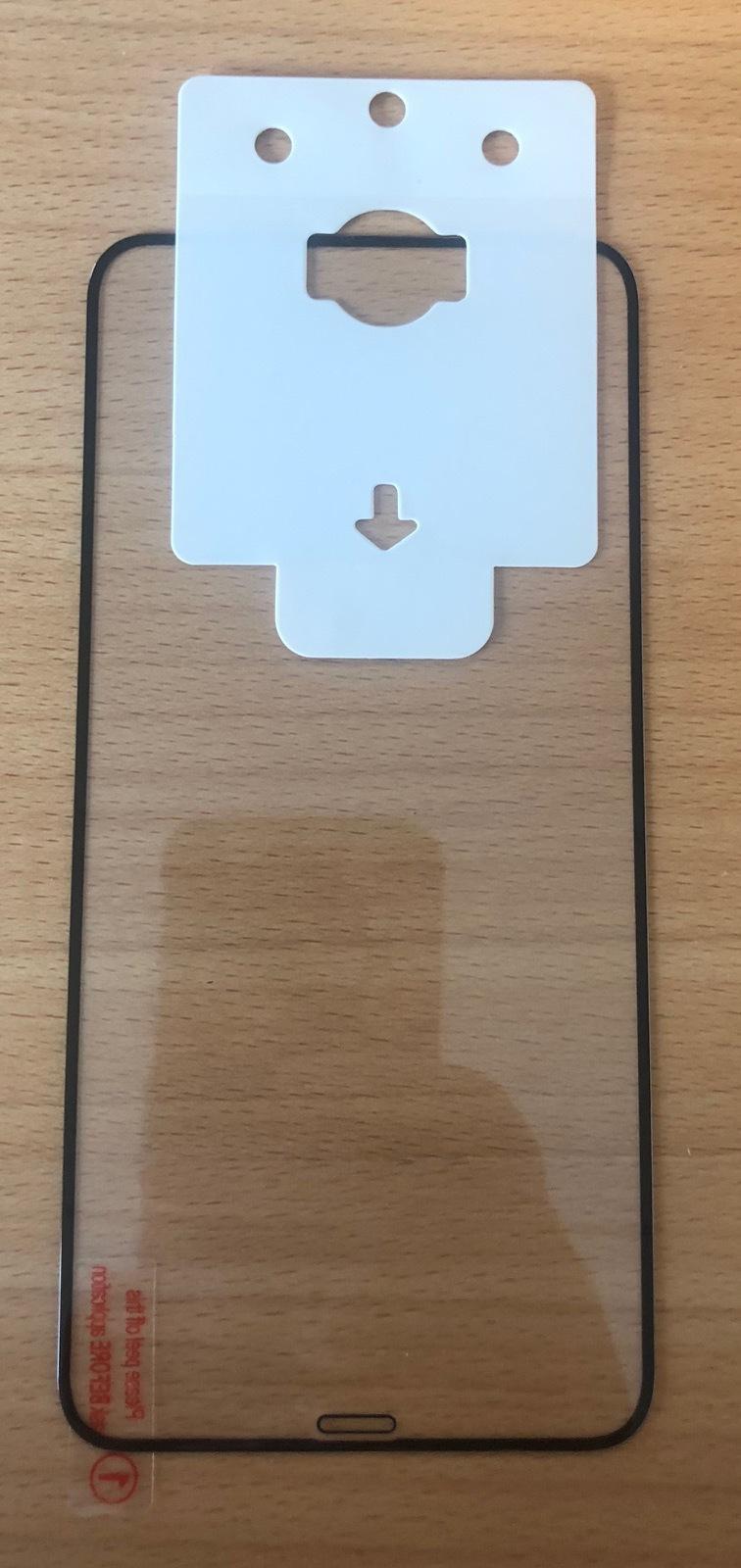 ESTUFF Apple iPhone XS Max 10 pcs Black Full Cover Glass ES580243-10BULK - eet01