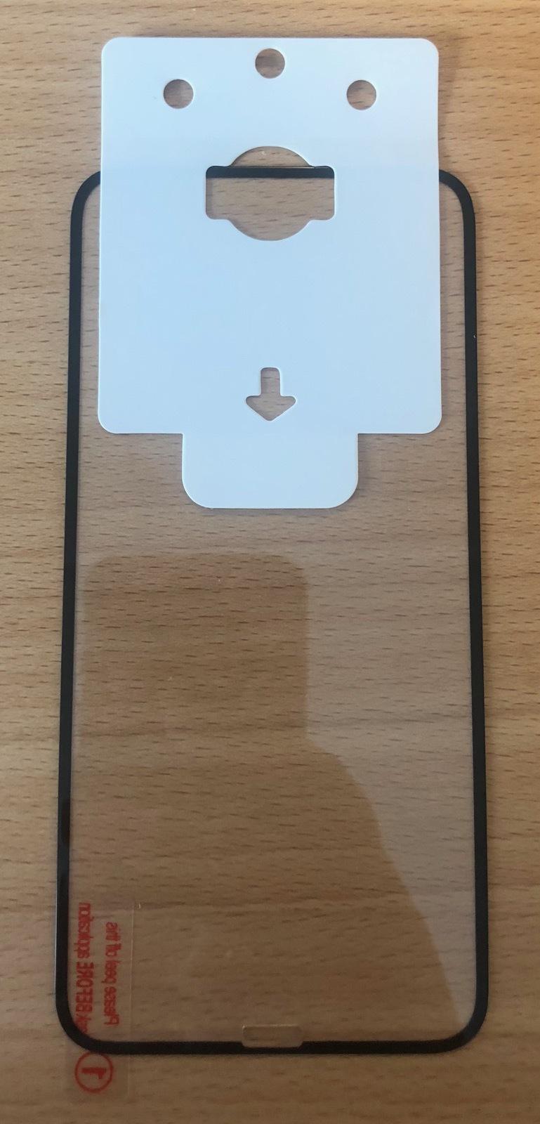 ESTUFF Apple iPhone XS/X 10 pcs Black Full Cover Glass ES580510-10BULK - eet01