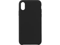ESTUFF IPhone Xs Max Silicone case Black silk touch ES671186 - eet01