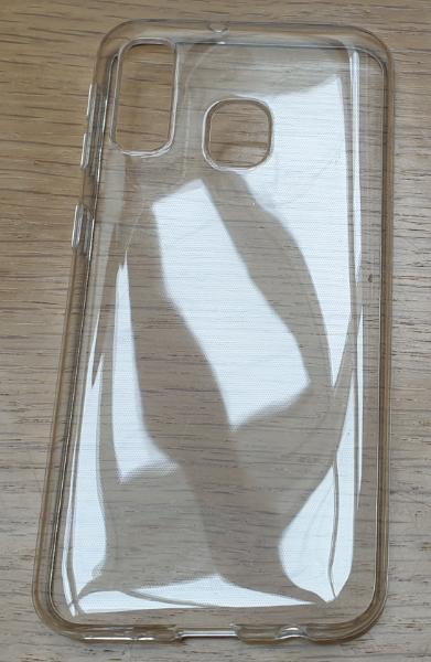 ESTUFF Samsung A40 Soft case Clear ultra-slim ES673031-BULK - eet01