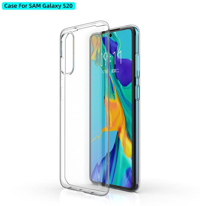 ESTUFF Samsung Galaxy S20/5G Soft cas Clear ultra-slim ES673062-BULK - eet01