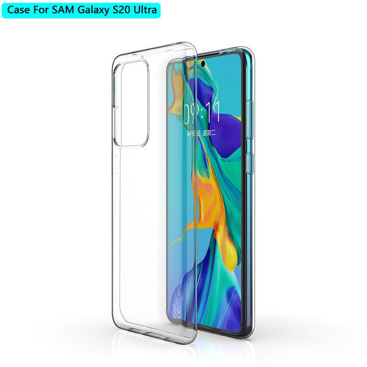 ESTUFF Samsung Galaxy S20 Ultra Soft Clear ultra-slim ES673064-BULK - eet01