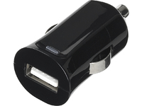 ESTUFF Car Charger 1 USB 2.4A/12W For smartphone/tablet ES80100-BLACK - eet01