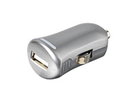 ESTUFF Car Charger 1 USB 1A, Grey Allure Series ES80101-GREY - eet01