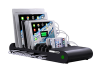 ES80175 ESTUFF USB Charging Station - Black 8 x 2.4A + 2 x 1.0A - eet01