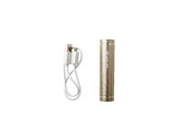 ESTUFF Power Bank 2.200mAh Gold IN: 5V/0.8A OUT:5V/0.5A ES80191 - eet01