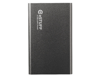 ESTUFF Power Bank 4.000mAh Space Grey IN: 5V/1A OUT: 5V/1A ES80196 - eet01