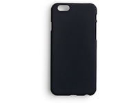 ESTUFF IPhone 7 Backcover Black Softgrip Rubber Coated ES80210BULK - eet01