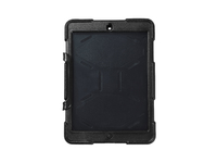 ESTUFF IPad Air Tough Cover, Black With detachable kick-stand ES80496BULK - eet01