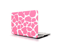 "ESTUFF MacBook Air 13"" Pink Giraffe Hardcover ES82115-01 - eet01"