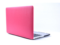 "ESTUFF MacBook Air 13"" Leather Pink Hardcover ES82115-22 - eet01"