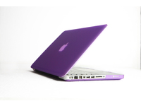 "ESTUFF SatinShell for MacBook 13"" Pro Frosted Purple ES82124 - eet01"