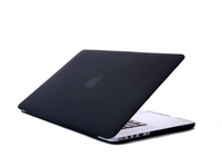 "ESTUFF SatinShell for MacBook 13"" Pro Retina Frosted Black ES82131 - eet01"