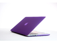 "ESTUFF SatinShell for MacBook 13"" Pro Retina Frosted Purple ES82136 - eet01"