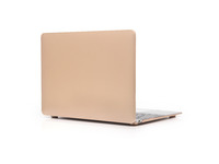 "ESTUFF MacBook Pro Retina 13"" Gold Metallic Oil Coating Hardcover ES82140-10 - eet01"