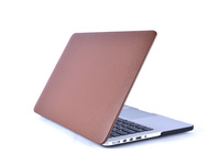 "ESTUFF MacBook Pro Retina 13"" Brown Leather  Hardcover ES82140-21 - eet01"