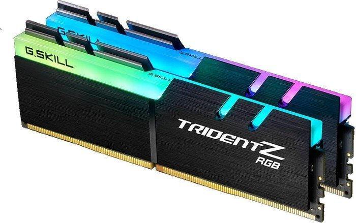 G.Skill 32GB PC 3200 CL14 (2x16GB) 32GTZR Tri/Z RGB F4-3200C14D-32GTZR - eet01