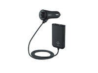 Belkin Car Charger + Extension 4 port  F8M935BT06-BLK - eet01
