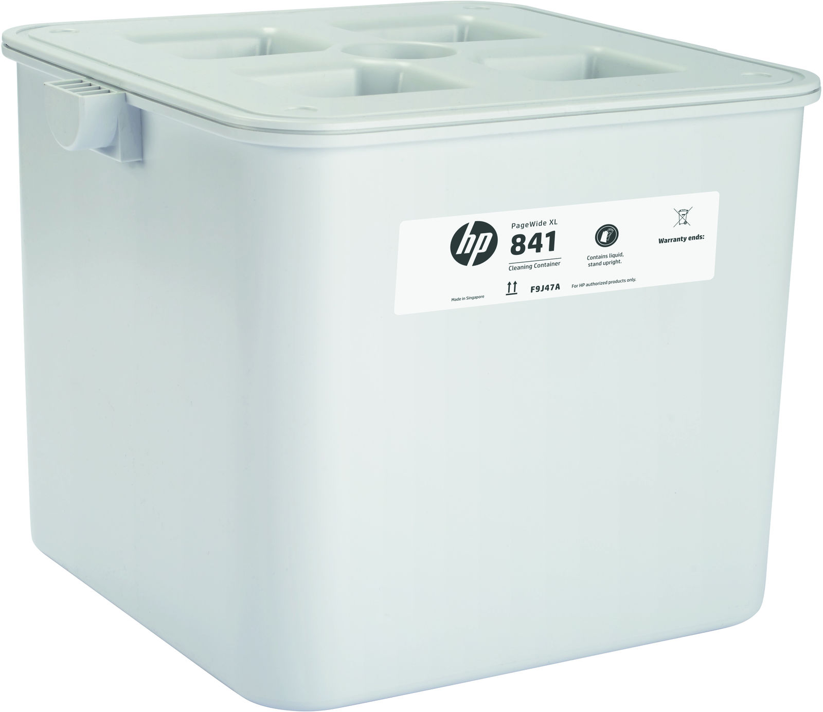 HP 841 CLeaning Container **New Retail** F9J47A - eet01