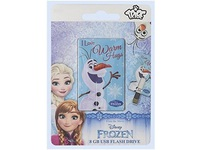 Tribe 8GB ICONIC Frozen Olaf USB CARD FC026402 - eet01