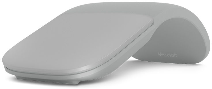 Microsoft Arc Mouse Bluetooth Light Grey  FHD-00002 - eet01