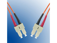 MicroConnect SC/UPC-SC/UPC 5m 62.5/125 OM1 MM Duplex LSZH OD: 2mm, 0.3dB FIB220005 - eet01