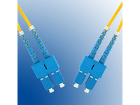 MicroConnect SC/UPC-SC/UPC 1M 9/125 OS2 Singlemode Duplex LSZH FIB221001 - eet01