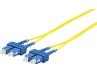 MicroConnect SC/UPC-SC/UPC 10m 9/125 LSZH SM Duplex OS1/OS2 3mm, 0.15db FIB221010DC - eet01