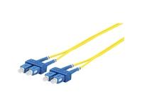 MicroConnect SC/UPC-SC/UPC 25m 9/125 OS2 SM Duplex LSZH OD: 2mm, 0.3db FIB221025 - eet01