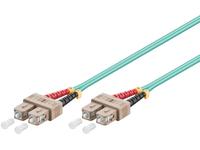 MicroConnect SC/UPC-SC/UPC 7m 50/125 OM3 MM Duplex LSZH OD: 2mm, 0.3dB FIB222007 - eet01