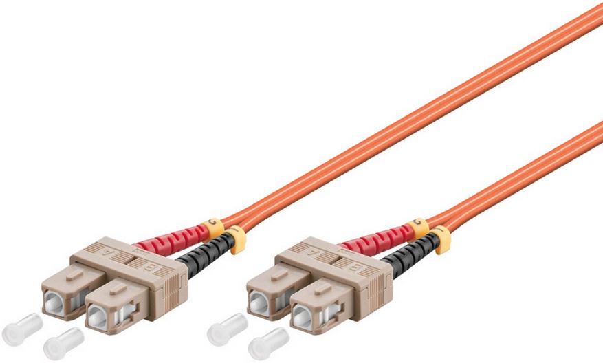 MicroConnect SC/UPC-SC/UPC 20m 50/125 OM2 MM Duplex LSZH OD: 2mm, 0.3dB FIB222020-2 - eet01