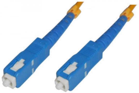 MicroConnect SC/UPC-SC/UPC 1M 9/125 OS2 Singlemode Simplex LSZH FIB224001 - eet01