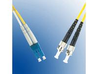 MicroConnect LC/UPC-ST/UPC 2m 9/125 OS2 SM Duplex LSZH OD: 2mm, 0.3db FIB411002 - eet01